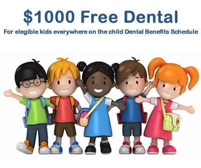 Free Kid's Dental Care